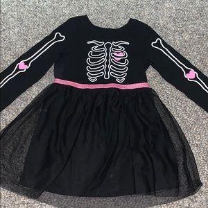 Halloween 🎃 Skeleton dress with Tutu